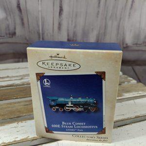Hallmark Keepsake LIONEL Train Blue Comet 400E Ste
